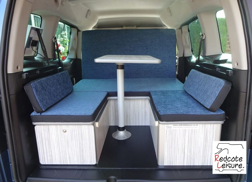 2016 Peugeot Partner Tepee Active Blue HDI Micro Camper (30)