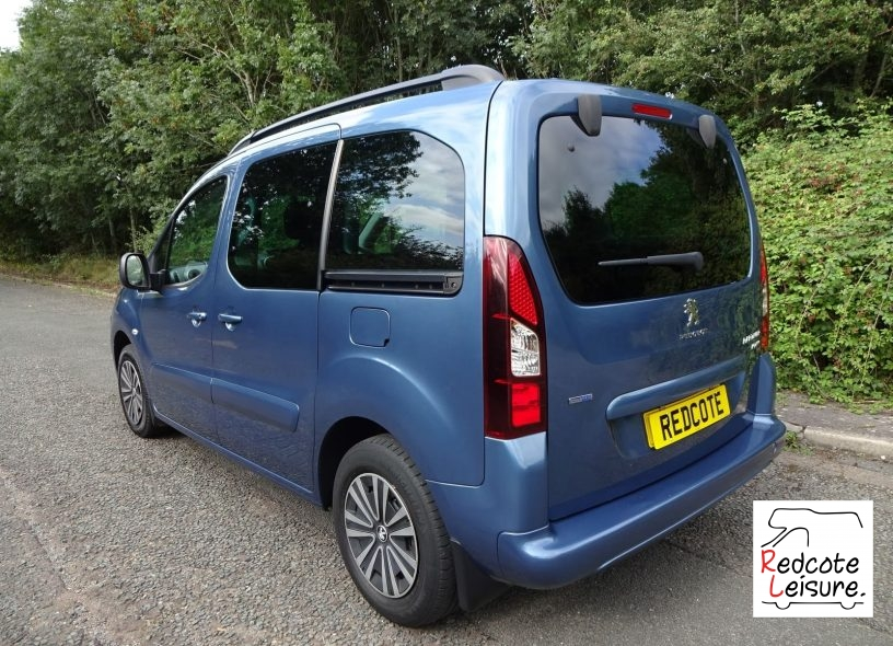 2016 Peugeot Partner Tepee Active Blue HDI Micro Camper (4)