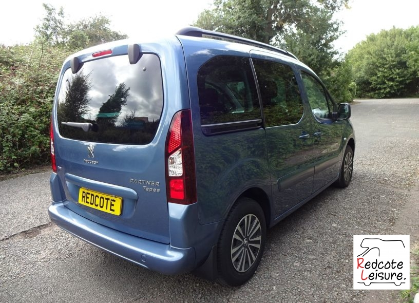 2016 Peugeot Partner Tepee Active Blue HDI Micro Camper (5)
