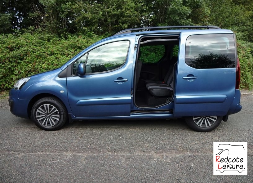2016 Peugeot Partner Tepee Active Blue HDI Micro Camper (7)