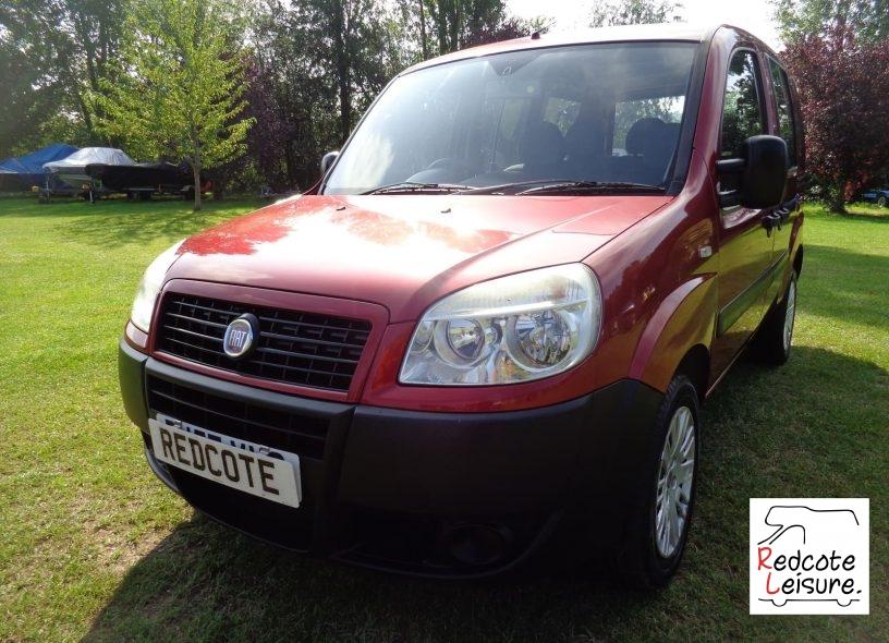 2007 Fiat Doblo Active Micro Camper (1)